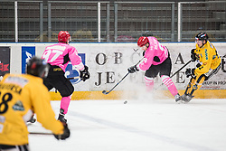 Alps Hockey League match between HC Pustertal and HDD SIJ Jesenice, on October 3, 2019 in Ice Arena Podmezakla, Jesenice, Slovenia. Photo by Peter Podobnik / Sportida