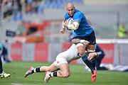 Foto Alfredo Falcone - LaPresse<br /> 14/02/2016 Roma ( Italia)<br /> Sport Rugby<br /> Italia - Inghilterra<br /> Rugby RBS Sei Nazioni - Stadio Olimpico di Roma<br /> Nella foto:Sergio Parisse<br /> <br /> Photo Alfredo Falcone - LaPresse<br /> 14/02/2016 Roma (Italy)<br /> Sport Rugby<br /> Italy - England<br /> Rugby RBS 6 Nations - Olimpico Stadium of Roma<br /> In the pic:Sergio Parisse