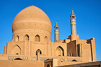 Iran, Province d'Ispahan, Kashan, la mosquée de Vendredi // Iran, Isfahan province, Kashan city, Friday mosque