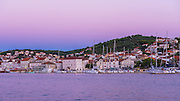 Evening light on the Adriatic, Trogir, Dalmatian Coast, Croatia
