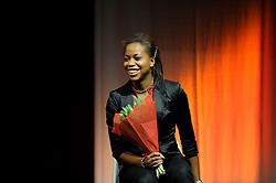 13-12-2010 ALGEMEEN: TOPSPORT GALA AMSTERDAM: AMSTERDAM<br /> In de Westergasfabriek werd het gala van de beste sportman, -vrouw, coach en ploeg gekozen / Jamile Samuel, talent van het jaar 2010<br /> ©2010-WWW.FOTOHOOGENDOORN.NL