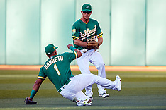 20180629 - Cleveland Indians at Oakland Athletics