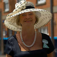 Ascot 20th June 2007 Second day at Royal Ascot with celebrities and members of the Royal Family  BBC Presenter Kate Adie