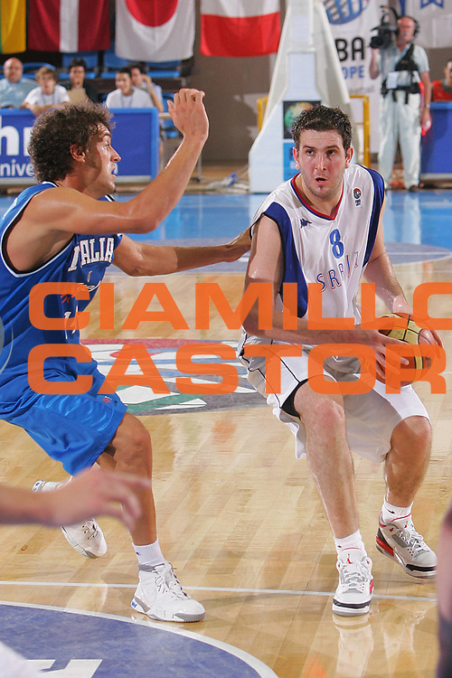 DESCRIZIONE : Gorizia U20 European Championship Men Semi-Final Serbia Italy <br /> GIOCATORE : Labovic <br /> SQUADRA : Serbia <br /> EVENTO : Gorizia U20 European Championship Men Semi-Final Serbia Italy Campionato Europeo Maschile Under 20 Semifinale Serbia Italia <br /> GARA : Serbia Italy <br /> DATA : 14/07/2007 <br /> CATEGORIA : Penetrazione <br /> SPORT : Pallacanestro <br /> AUTORE : Agenzia Ciamillo-Castoria/S.Silvestri <br /> Galleria : Europeo Under 20 <br /> Fotonotizia : Gorizia U20 European Championship Men Semi-Final Serbia Italy <br /> Predefinita :