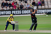 Dominic Boss of Hampshire during the NatWest T20 Blast South Group match between Hampshire County Cricket Club and Somerset County Cricket Club at the Ageas Bowl, Southampton, United Kingdom on 29 July 2016. Photo by David Vokes.