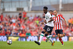 DUBLIN, REPUBLIC OF IRELAND - Saturday, August 5, 2017: Liverpool's Oviemuno Ovie Ejaria during a preseason friendly match between Athletic Club Bilbao and Liverpool at the Aviva Stadium. (Pic by David Rawcliffe/Propaganda)