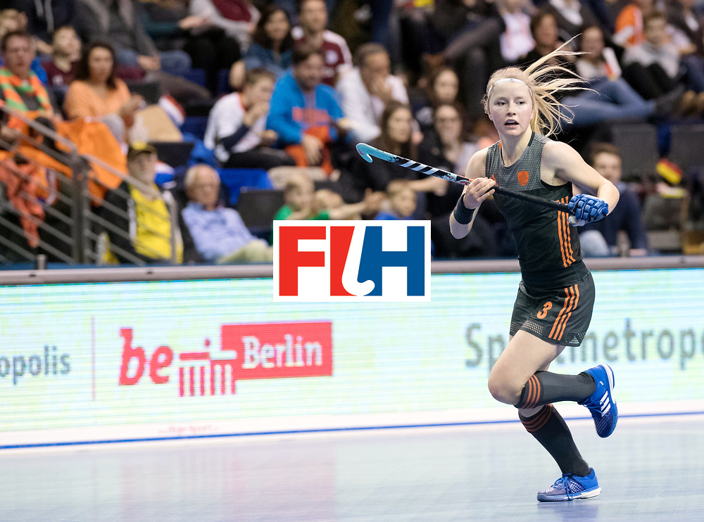 BERLIN - Indoor Hockey World Cup<br /> SF1 Netherlands - Ukraine<br /> foto: Gabrielle Mosch <br /> WORLDSPORTPICS COPYRIGHT FRANK UIJLENBROEK