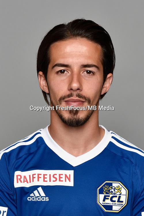 15.07.2016; Luzern; Fussball - FC Luzern;<br />Jahmir Hyka (Luzern)<br />(Martin Meienberger/freshfocus)