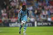 Steve MANDANDA -  Atletico Madrid / Marseille  - 01/10/2008 - Stade Vincent CALDERON - Madrid - Champions League 2008-09..