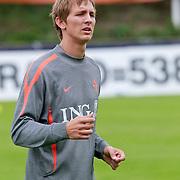 NLD/Katwijk/20110808 - Training Nederlands Elftal voor duel Engeland - Nederland, Luuk de Jong