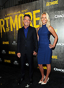 """Dennis Quaid and Santa Auzina attend Crackle's """"The Art of More"""" season two premiere, Tuesday, Nov. 15, 2016, at the Museum of Art and Design in New York. Sony's streaming network, Crackle, will launch season two of its first original scripted drama, """"The Art of More,"""" on November 16th.  (Photo by Diane Bondareff/Invision for Crackle/AP Images)"""