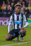 Rolando Aarons during the Pre-Season Friendly match between York City and Newcastle United at Bootham Crescent, York, England on 29 July 2015. Photo by Simon Davies.