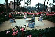 Plaza de America, Seville, Spain.