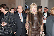 WILBUR ROSS; HILARY GEARY, Mariko Mori opening, Royal Academy Burlington Gardens Gallery. London. 11 December 2012.