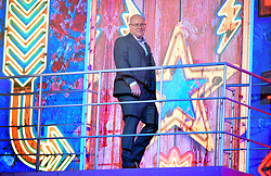 Nick Leeson enters the house during the Celebrity Big Brother Launch Night at Elstree Studios, Hertfordshire.