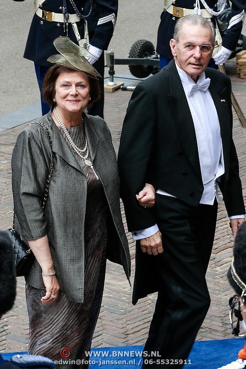 NLD/Amsterdam/20130430 - Inhuldiging Koning Willem - Alexander, Jacques Rogge