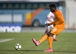 AUBAGNE, FRANCE - Tuesday, May 30, 2017: Ivory Coast's Jordan Kouassi in action during the Toulon Tournament Group B match between Bahrain and Ivory Coast at the Stade de Lattre-de-Tassigny. (Pic by Laura Malkin/Propaganda)