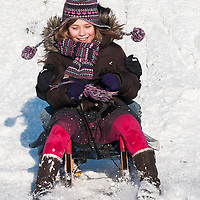 kind-sneeuw