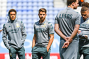 Leeds United defender Gaetano Berardi (28) arrives at the ground during the EFL Sky Bet Championship match between Wigan Athletic and Leeds United at the DW Stadium, Wigan, England on 17 August 2019.