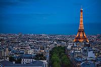 Tour Eiffel @ Blue Hour