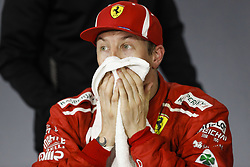 March 24, 2018 - Melbourne, Victoria, Australia - RAIKKONEN Kimi (fin), Scuderia Ferrari SF71H, portrait during 2018 Formula 1 championship at Melbourne, Australian Grand Prix, from March 22 To 25 - s: FIA Formula One World Championship 2018, Melbourne, Victoria : Motorsports: Formula 1 2018 Rolex  Australian Grand Prix, (Credit Image: © Hoch Zwei via ZUMA Wire)