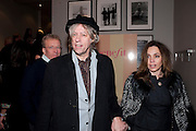 JEANE-MARINE; SIR BOB GELDOF, Savoy Theatre's Legally Blonde- The Musical,  Gala night. After-party at the Waldorf Hilton. London. 13 January 2010. *** Local Caption *** -DO NOT ARCHIVE-© Copyright Photograph by Dafydd Jones. 248 Clapham Rd. London SW9 0PZ. Tel 0207 820 0771. www.dafjones.com.<br /> JEANE-MARINE; SIR BOB GELDOF, Savoy Theatre's Legally Blonde- The Musical,  Gala night. After-party at the Waldorf Hilton. London. 13 January 2010.