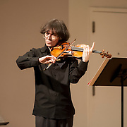 June 12, 2012 - New York, NY : Violinist Rolf Schulte performs Donald Martino's 'Fantasy-Variations' (1962) during the Institute & Festival for Contemporary Performance 2012 at the Mannes Concert Hall in Manhattan on Tuesday night. CREDIT: Karsten Moran for The New York Times