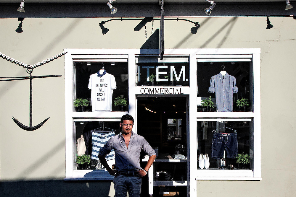 Item Clothing Store, Provincetown Mass