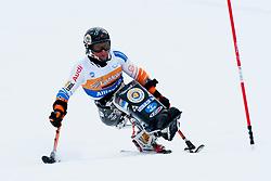 van der KLOOSTER Kees-Jan, NED, Super Combined, 2013 IPC Alpine Skiing World Championships, La Molina, Spain