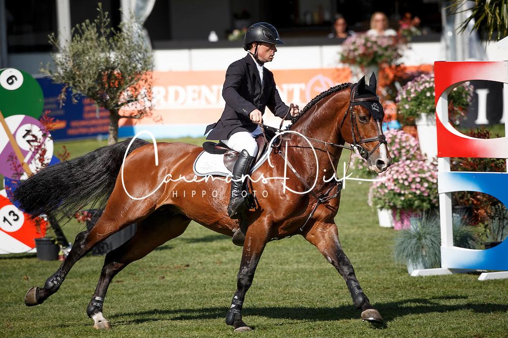 Greve Willem, (NED), Carambole<br /> Nederlands kampioenschap springen - Mierlo 2016<br /> © Hippo Foto - Dirk Caremans<br /> 21/04/16