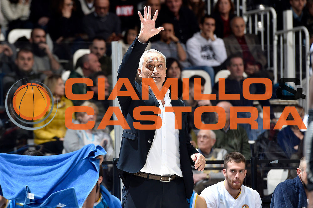 DESCRIZIONE : Bologna Lega A 2014-15 Granarolo Bologna Vanoli Cremona<br /> GIOCATORE : Cesare Pancotto<br /> CATEGORIA : delusione<br /> SQUADRA : Vanoli Cremona<br /> EVENTO : Campionato Lega A 2014-15<br /> GARA : Granarolo Bologna Vanoli Cremona<br /> DATA : 20/12/2014<br /> SPORT : Pallacanestro <br /> AUTORE : Agenzia Ciamillo-Castoria/Max.Ceretti<br /> Galleria : Lega Basket A 2014-2015 <br /> Fotonotizia : Bologna Lega A 2014-15 Granarolo Bologna Vanoli Cremona<br /> Predefinita :