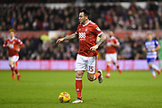 Nottingham Forest forward Lee Tomlin (15) in action during the EFL Sky Bet Championship match between Nottingham Forest and Reading at the City Ground, Nottingham, England on 20 February 2018. Picture by Jon Hobley.