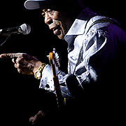 """July 20, 2016 - New York, NY : The blues guitarist George """"Buddy"""" Guy performs at The Theater at Madison Square Garden on Wednesday evening. CREDIT: Karsten Moran for The New York Times"""