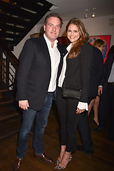 HRH Princess Madeleine of Sweden and her husband Christopher O'Neill at The Calling: Heal Ourselves Heal Our Planet held at San Lorenzo, 22 Beauchamp Place, London England. 28 March 2017.