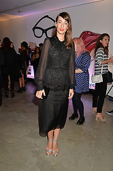 LAURA JACKSON at the launch of The Lulu Perspective to celebrate 25 years of Lulu Guinness held at 74a Newman Street, London on 13th September 2014.