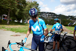 Mavi Garcia (ESP) before Ladies Tour of Norway 2019 - Stage 2, a 131 km road race from Mysen to Askim, Norway on August 23, 2019. Photo by Sean Robinson/velofocus.com