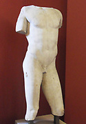 Torso of a boy.  2nd Century AD Roman copy of a 5th century BC Greek sculpture, known as Eros Soranzo.