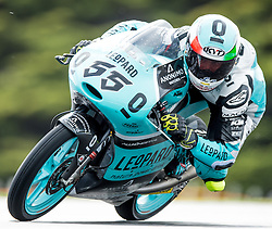 October 22, 2016 - Melbourne, Victoria, Australia - Italian rider Andrea Locatelli (#55) of Leopard Racing in action during the 3rd Moto3 Free Practice session at the 2016 Australian MotoGP held at Phillip Island, Australia. (Credit Image: © Theo Karanikos via ZUMA Wire)