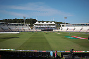 Sun shining at Southampton for the fist England Warm up before the ICC Cricket World Cup 2019 warm up match between England and Australia at the Ageas Bowl, Southampton, United Kingdom on 25 May 2019.