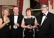 At the SCSI, (Society of Chartered Surveyors Ireland) - Western Region Annual Dinner 2016 in the Ardilaun Hotel Galway were Yvonne and Jim Drew with Catherine and Kevin Sherridan . Photo:Andrew Downes, xpousre