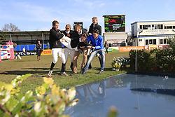 Sleiderink Sjaak (NED) - Zhivago<br /> Nederlands Kampioenschap YR - Mierlo 2013<br /> © Hippo Foto - Leanjo de Koster