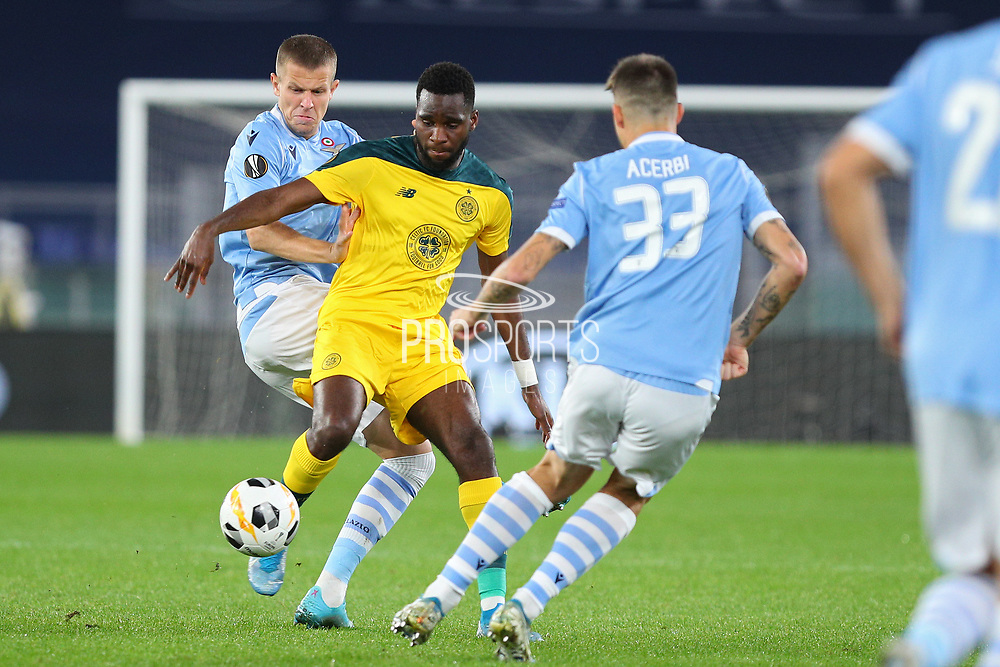 Jony of Celtic in action during the UEFA Europa League, Group E football match between SS Lazio and Celtic FC on November 7, 2019 at Stadio Olimpico in Rome, Italy - Photo Federico Proietti / ProSportsImages / DPPI
