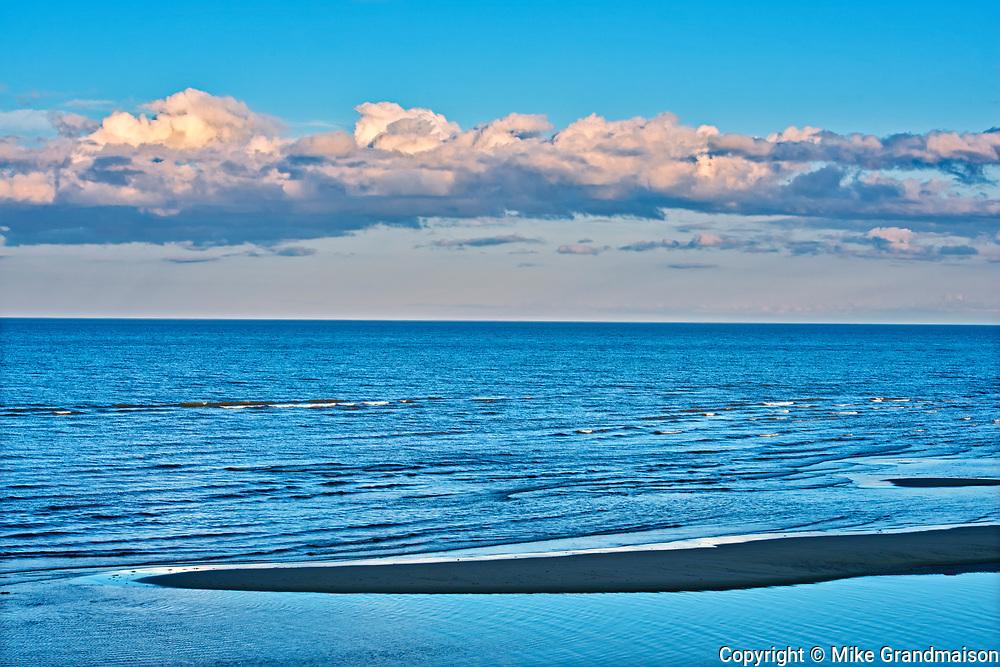 Caraquet Bay in Chaleur Bay on the Acadian Peninsula, Caraquet , New Brunswick, Canada