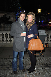 JACK & KATE FREUD at Skate presented by Tiffany & Co at Somerset House, London on 22nd November 2010.