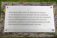 HAVELTE - Golf Club Havelte. Bomkrater uit WO II bij hole 18.COPYRIGHT KOEN SUYK