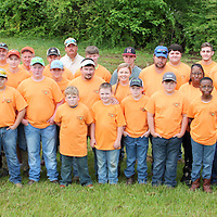 (Floyd Ingram / Buy at photos.chickasawjournal.com)<br /> More than 35 Chickasaw County 4-H Shooting Sports youth and adults took part in the District Match at Whitetail Ridge Gun Club in Pontotoc County earlier this spring. Top shooters there now head on to State Competition in Meridian in July.