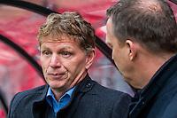 ALKMAAR - 06-03-2016, AZ - Excelsior, AFAS Stadion, 2-0, Excelsior coach Alfons Fons Groenendijk, AZ trainer John van den Brom