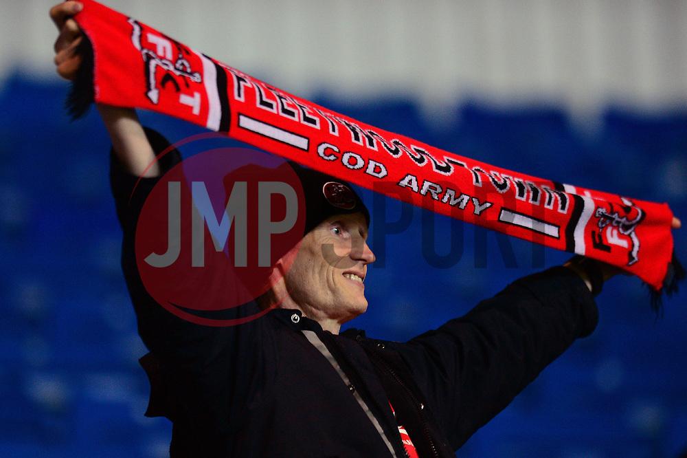 Fleetwood Town fan - Mandatory by-line: Dougie Allward/JMP - 05/04/2017 - FOOTBALL - Kassam Stadium - Oxford, England - Oxford United v Fleetwood Town - Sky Bet League One