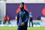 Moeen Ali of England warming up before the first day of the 4th SpecSavers International Test Match 2018 match between England and India at the Ageas Bowl, Southampton, United Kingdom on 30 August 2018.