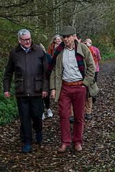 Pictured: Fergus Ewing and Lawrie Hayworth, Chair, Peebles Community Trust <br />